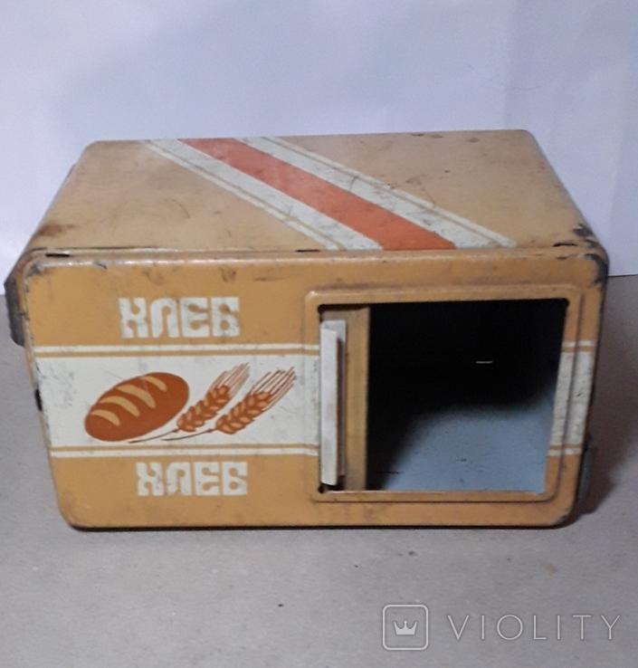Бутка к машины ХЛЕБ из СССР размер 16Х11,3Х9 см., фото №5