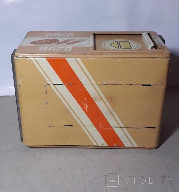 Бутка к машины ХЛЕБ из СССР размер 16Х11,3Х9 см., фото №8