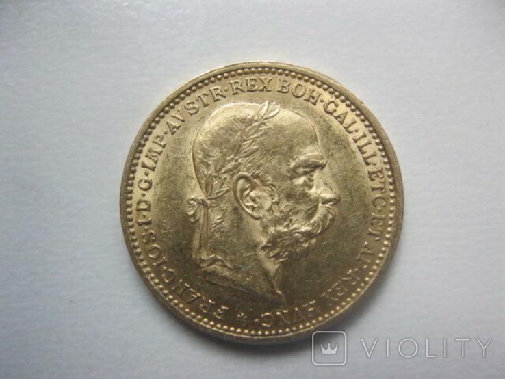 20 корон 1896 рік Австро Угорщина, фото №2