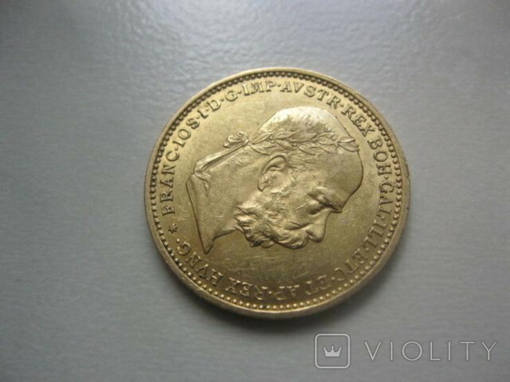20 корон 1896 рік Австро Угорщина, фото №4