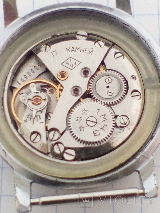 Часы Полет 17 камней 1 мчз, фото №10
