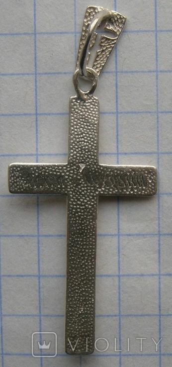 Крестик. Серебро 925 пр. Вес - 1,59 г., фото №4