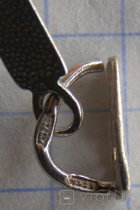 Крестик. Серебро 925 пр. Вес - 1,59 г., фото №5