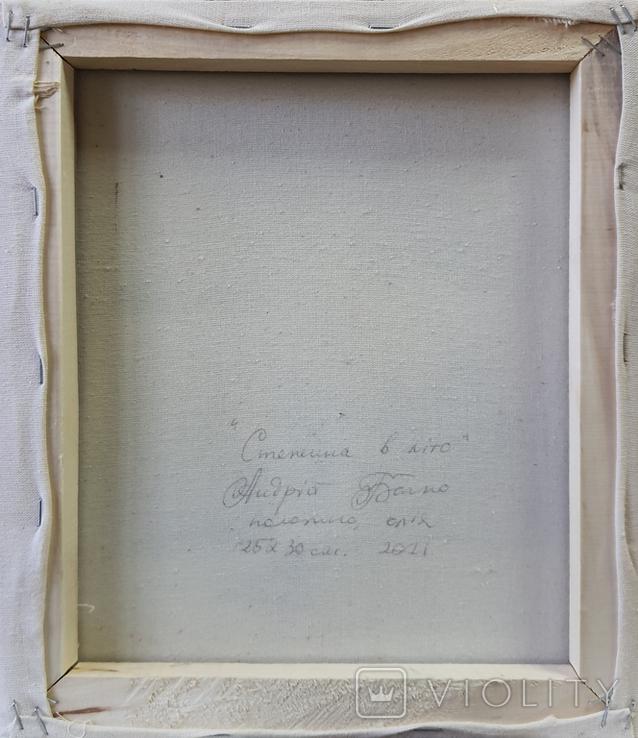 Картина, Стежина в літо, 25х30 см. Живопис на полотні, фото №5