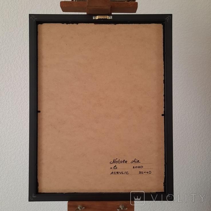 Картина/ живопис/ абстракція Fluid Art #6 acrylic, фото №13