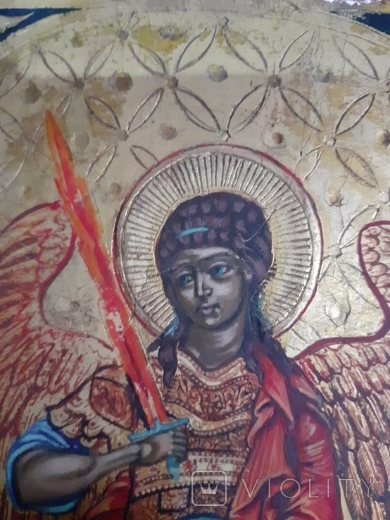 Икона св. Михаил, фото №9