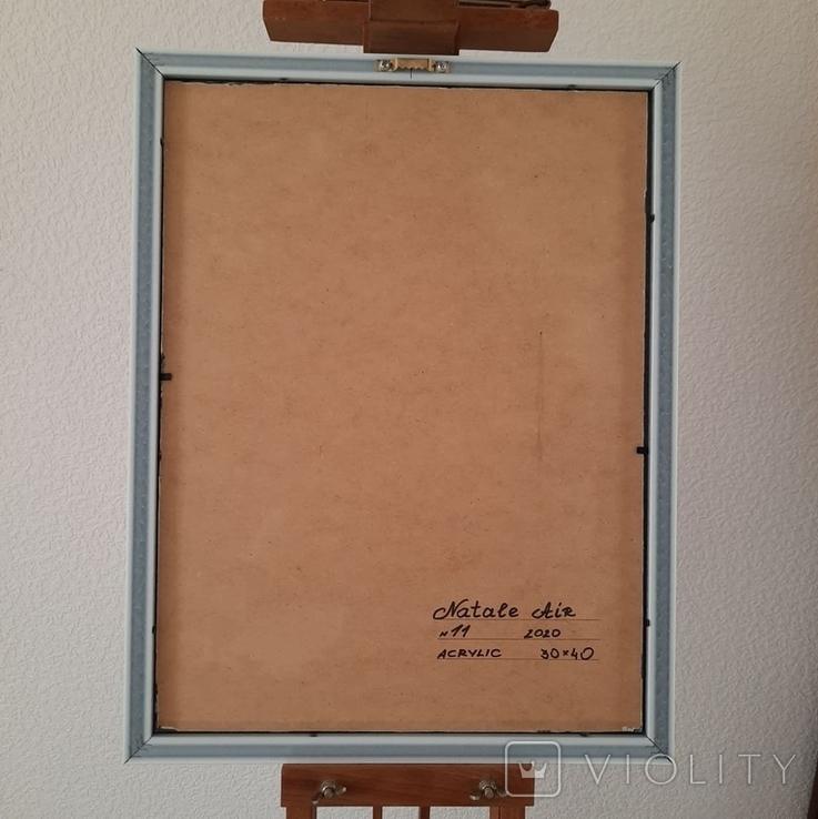 Картина/ живопис/ абстракція Fluid Art #11 acrylic, фото №13