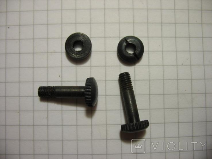 Комплект винтов, подходят на штыки бучер, маузер поляк, маузер чех. Копия, фото №2