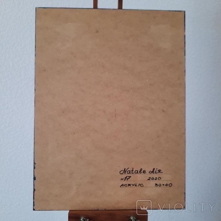 Картина/ живопис/ абстракція Fluid Art #17 acrylic, фото №13