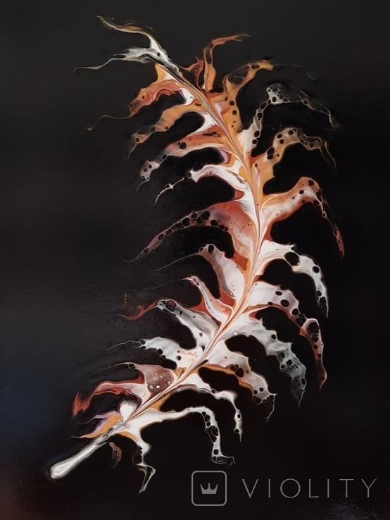 Картина/ живопис/ абстракція Fluid Art #18 acrylic, фото №9