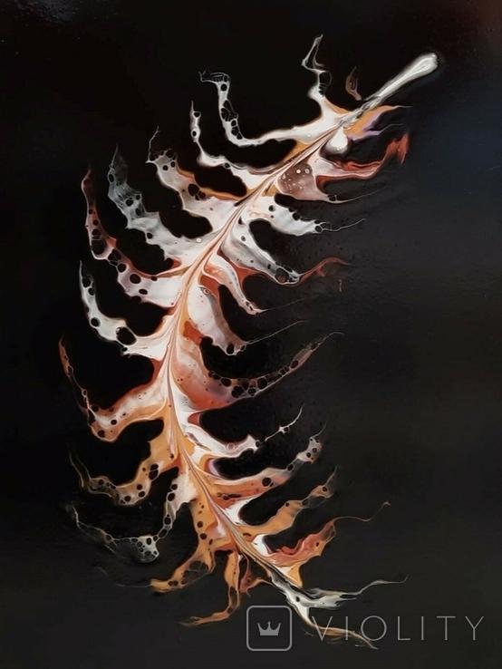 Картина/ живопис/ абстракція Fluid Art #18 acrylic, фото №10