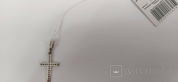 Крестик с бриллиантами, фото №6