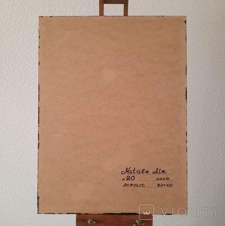 Картина/ живопис/ абстракція Fluid Art #20 acrylic, фото №13