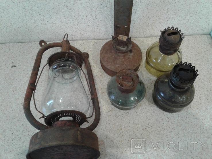 5 ламп керосиновых (разные), фото №13