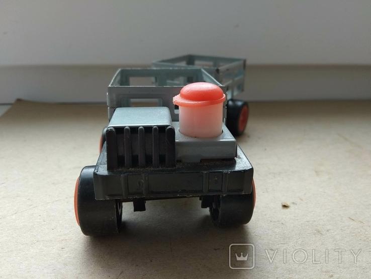 Машинка с прицепом., фото №4