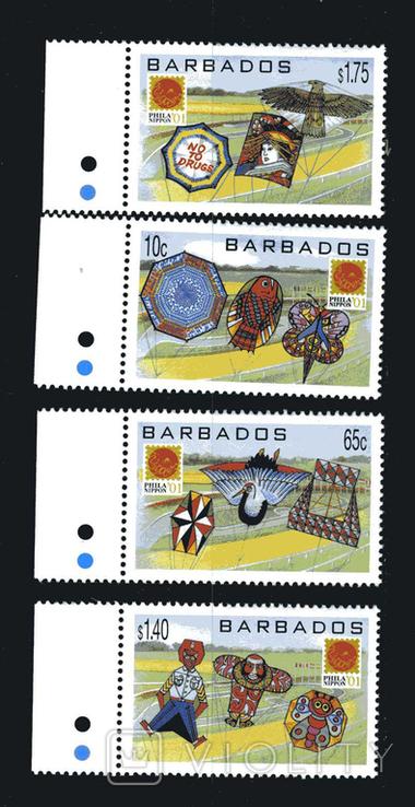 Барбадос 2001 - Фила Япония. культура. серия