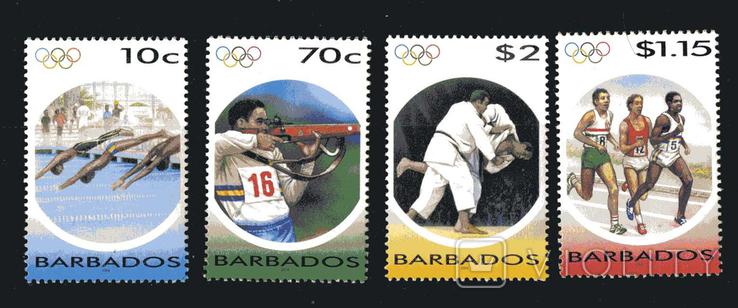 Барбадос 2004 - Спорт. Олимпийские игры. серия