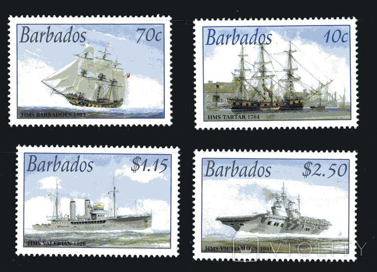 Барбадос - История флота. Корабли. 4м