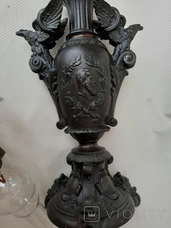 Керосиновая лампа Германская империя., фото №3