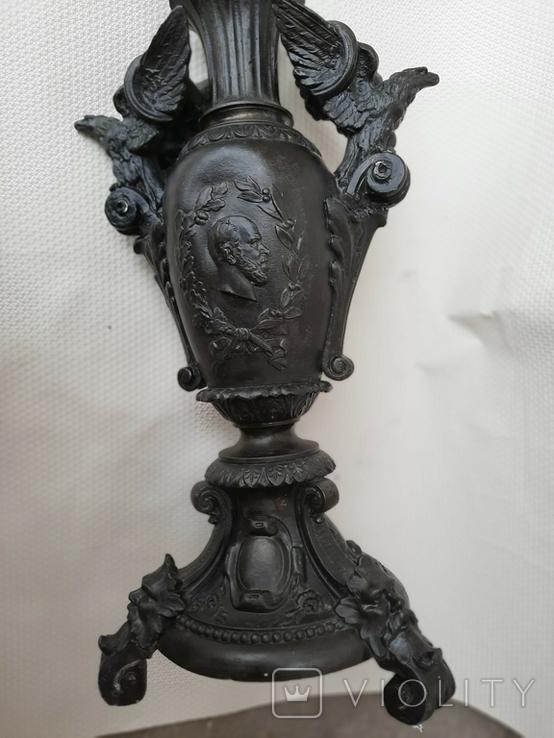 Керосиновая лампа Германская империя., фото №4
