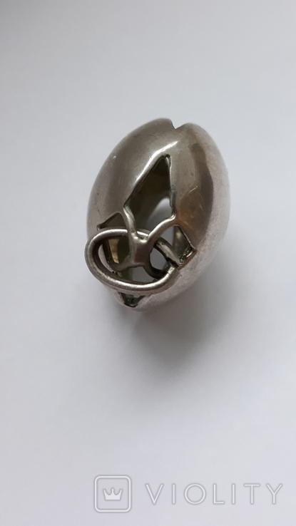 Кулон сердечко, Італія срібло 925, фото №3