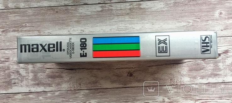 Видеокассета MAXELL E-180, фото №4