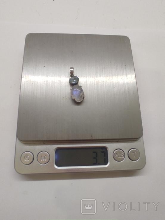 Кулон серебро, фото №3