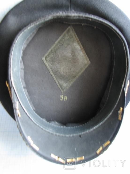 Фуражка офицера ВМФ СССР размер- 58, фото №4