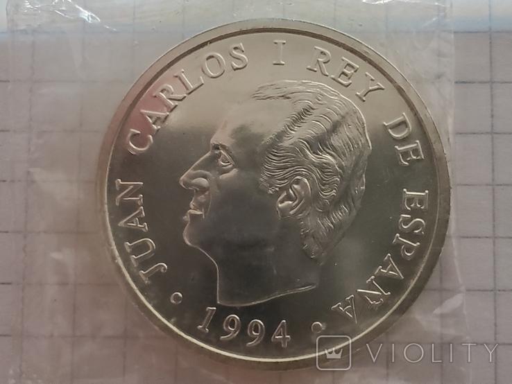 Испания 2000 песет,1994 год., фото №2