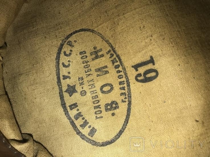 Фуражка полевая (на военное время), образец 1941 года, фото №8