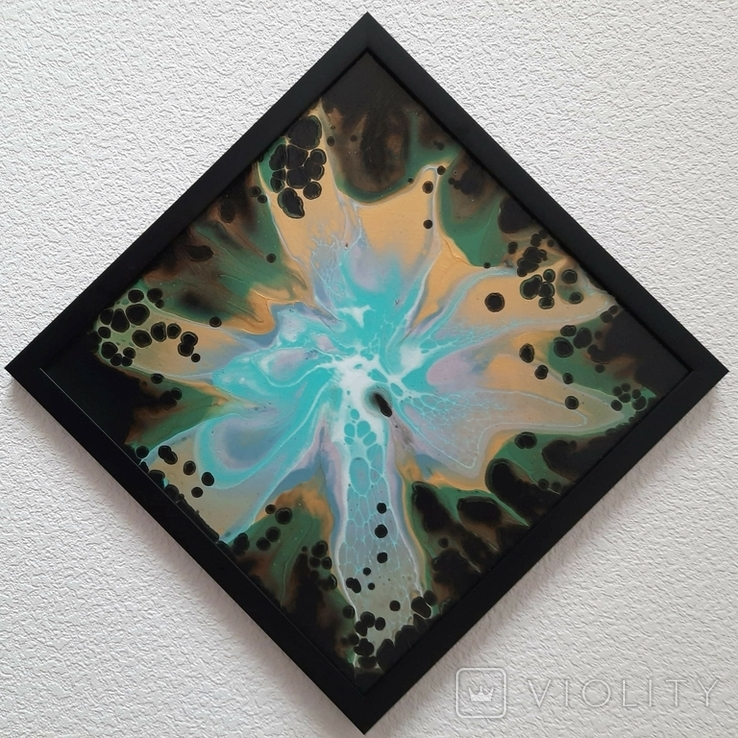 Картина живопис абстракція Fluid Art #36 acrylic, фото №8