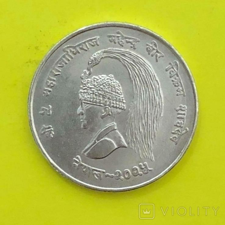Непал 10 рупій, 2025 (1968) ФАО Срібло., фото №2
