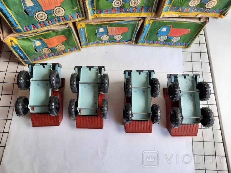 Машинка Грузовик СССР 10 штук нові, фото №4