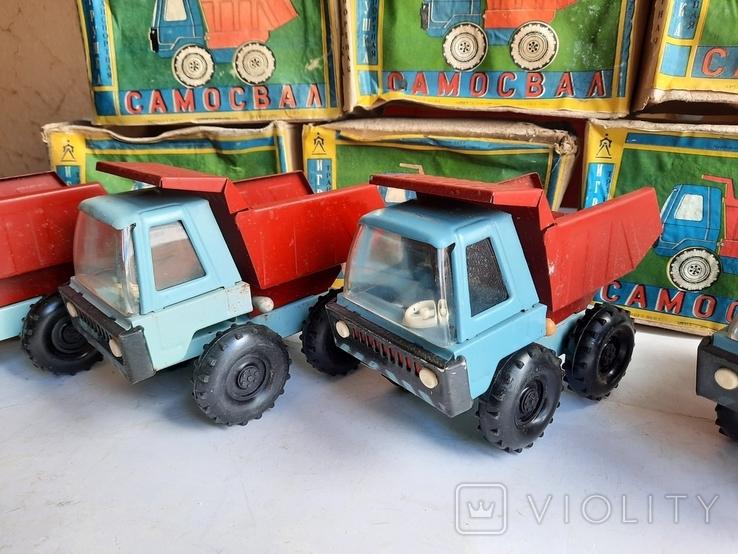Машинка Грузовик СССР 10 штук нові, фото №7