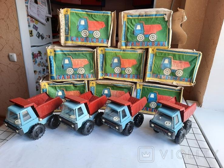 Машинка Грузовик СССР 10 штук нові, фото №9