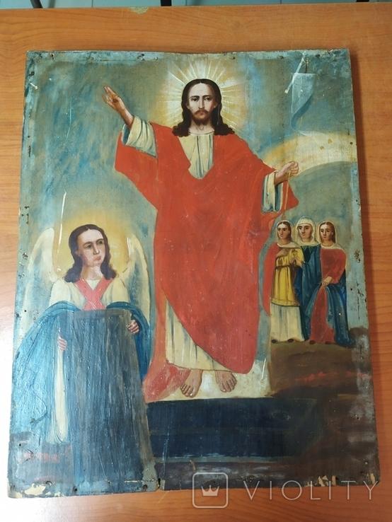Икона Воскресенье 43/34 см, фото №2