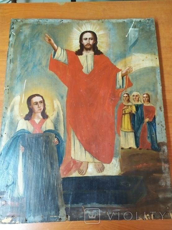 Икона Воскресенье 43/34 см, фото №3