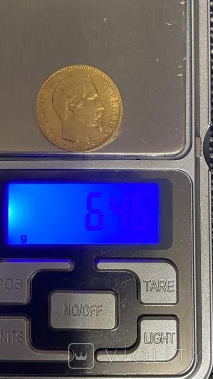 Золото 20Франков.1858г., фото №12