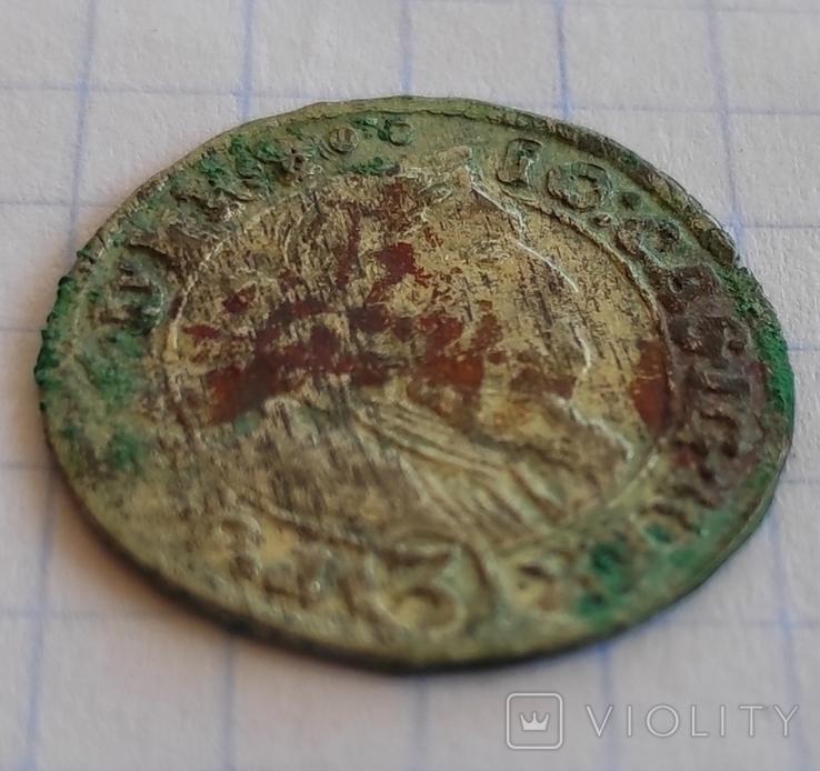 3 крейцера 1660, фото №3
