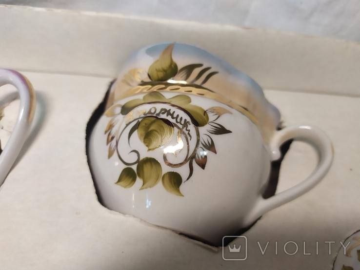 Чайный подарочный набор Неделька. Коростень. Новый, фото №9