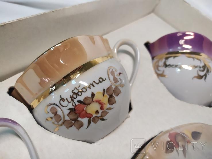 Чайный подарочный набор Неделька. Коростень. Новый, фото №11