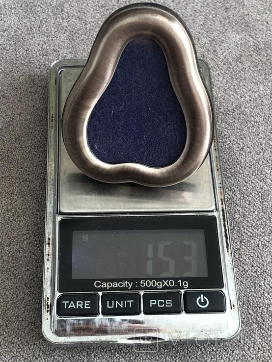 Серебряная рамочка для фото Грушка (серебро 800 пр), фото №9