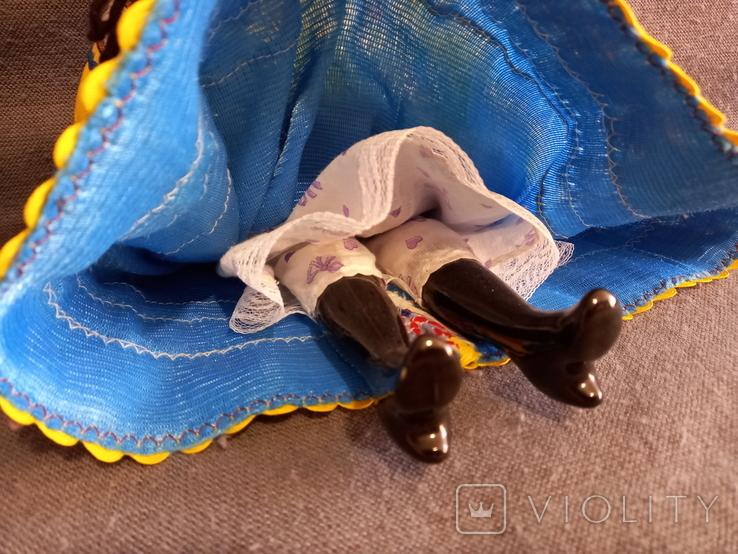 Кукла Барышня в кокошнике Фарфоровая, фото №6