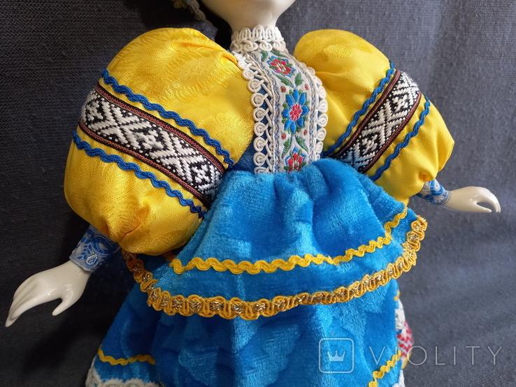 Кукла Барышня в кокошнике Фарфоровая, фото №11
