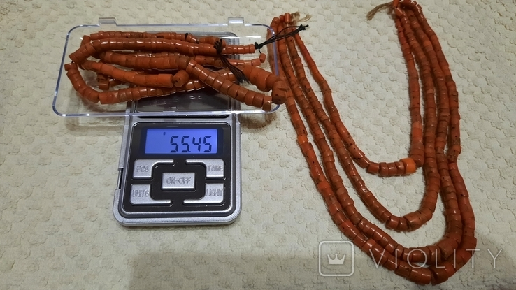 Старинный Корал 138 грамм., фото №11