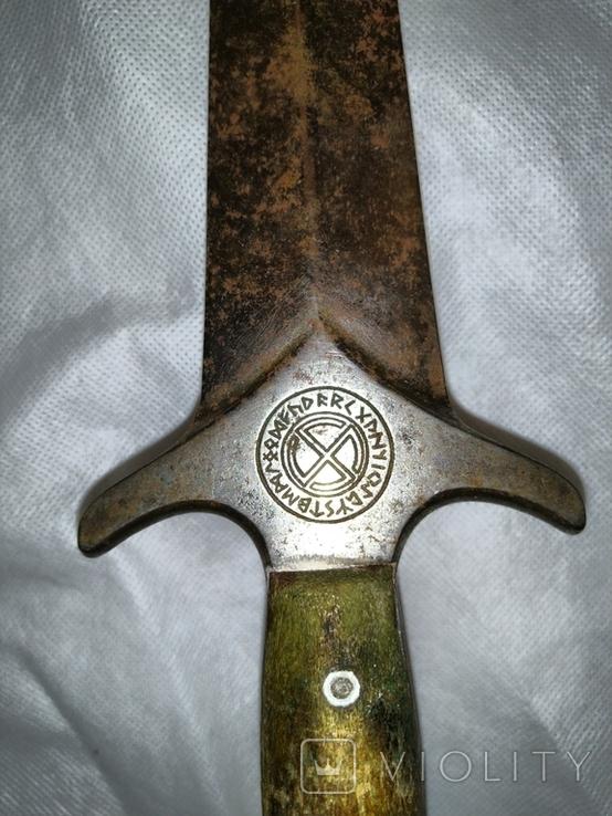 Кинжал оккультный периода 3 рейха, фото №2