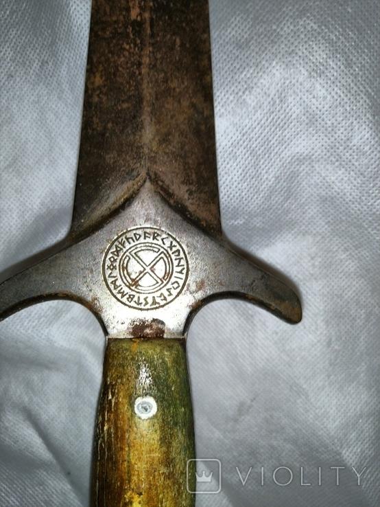 Кинжал оккультный периода 3 рейха, фото №3