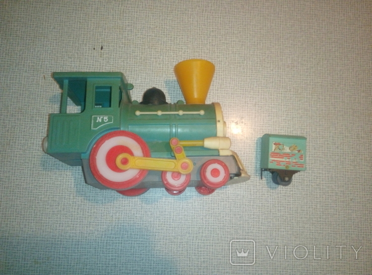 Паровоз + вагончик, фото №6