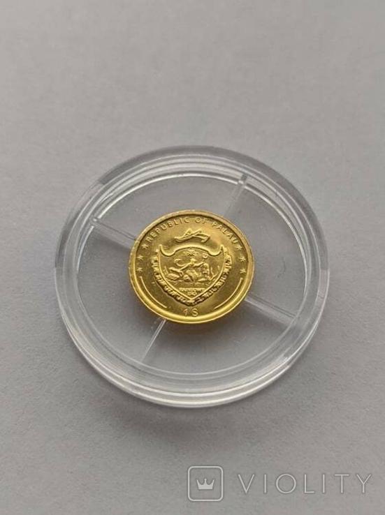 1 2007 год Палау золото 1/50 унц. 9999`, фото №3