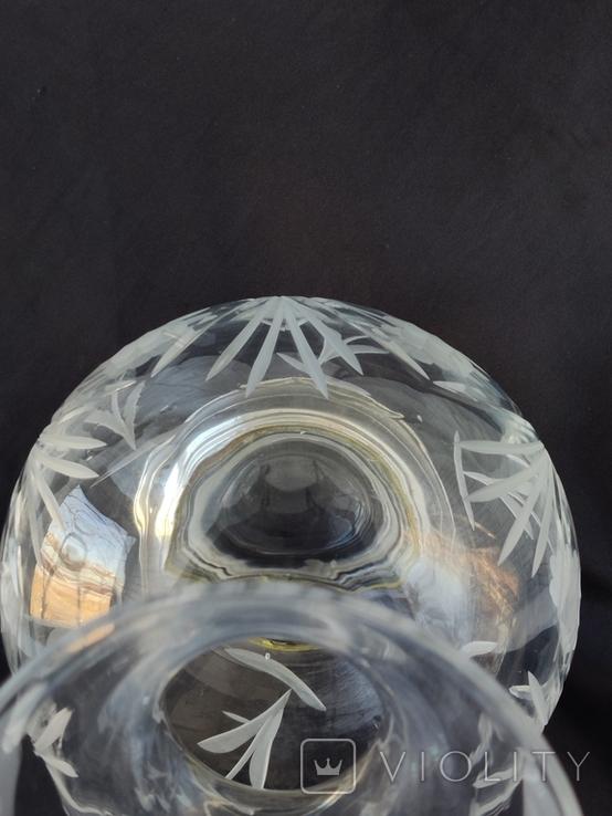 Большая Ваза Хрусталь Серебро 800 пр ( Италия ), фото №10